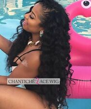 Best Curly Human Hair Full Lace Wigs Black Women Indian Remy Hair Lace Front Wig