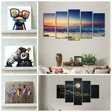 Multiple Wall Art Canvas Printed Decor Sunset Seascape Picture Home Unframed RT