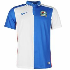 Nike Blackburn Rovers Home Jersey 2015 2016 Mens Blue/White Football Soccer Club