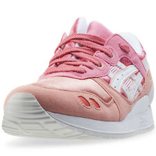 Asics Onitsuka Tiger Gel-lyte Iii Gs Kids Trainers Peach New Shoes