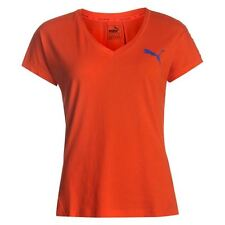 Puma Ladies Elevated T-Shirt DryCell Sports Crew Neck Short Sleeve Top Clothing