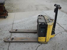 Yale Electric Pallet Jack, 4,000 lb. Capacity W/ 110V On Board Charging System