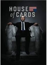 House of Cards: The Complete First Season (DVD, 2013, 4-Disc Set) SEALED