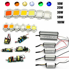 10W/20W/30W/50/100W High Power LED Chip Lamp Bulb Waterproof  Power Driver Suppy