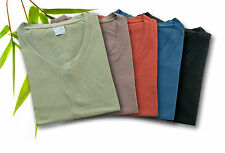 Bambu Dru Organic Cotton & Bamboo Women's V-neck T-shirt