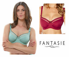 Fantasie Lois Underwired Side Support Bra 2972 Red or Mint Green * New Lingerie