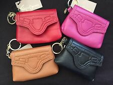NEW FOLEY + CORINNA Leather Coin Purse CITY COIN Key Fob MSRP $48 NWT