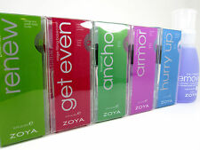 ZOYA Nail Treatments:Top, Base,Renew,Ridge Filler,Fast Dry,Remover(Your Choice)