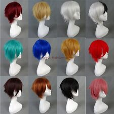 Short Wig Full Hair Wigs Cosplay Costume Party Fancy Dress Heat Resistant Hair