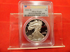 2013-W FIRST STRIKE Silver 1 oz. American Eagle Dollar PR69 DCAM PCGS.