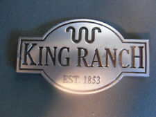Ford KING RANCH Emblem NICE USED OEM FACTORY 5L1J7843156AA