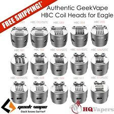 Authentic GeekVape HBC Coil Heads D04 D05 S03 S05 S06 S12 SSTC Eagle Ohm KA1 SS