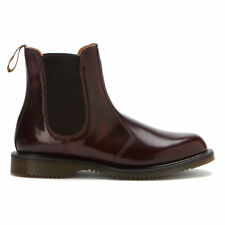 Dr Martens DM'S Flora 14650601 Womens Chelsea Dealer Boots Cherry Red Arcadia