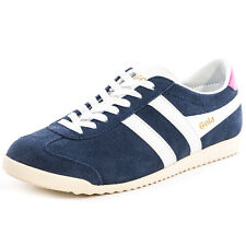 Gola Bullet Womens Trainers Navy White New Shoes