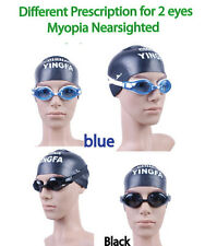 Customized Prescriptionl Swimming Goggles Nearsighted swim goggles for nearsight