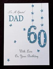 """8"""" x 6"""" Personalised Birthday Card Dad Brother Son Grandad Husband Uncle ANY AGE"""