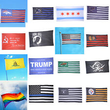 3'x5'FLAG HOT Stars Polyester American USA Stripes United States