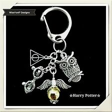 WIZARD CLIP ON BAG / KEY CHARM. SUITABLE FOR HARRY POTTER FAN. GIFT BOX OR POUCH