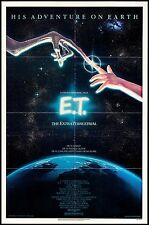 E.T. The Extra-Terrestrial One Sheet Movie Poster Steven Spielberg 1982