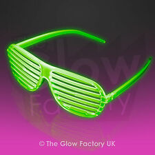 Glow in the Dark Shutter Sunglasses Wholesale Shades Glowing
