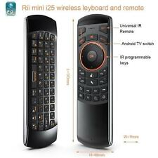Rii i25A 4 in 1 Mini Wireless Keyboard + Fly Mouse + IR Remote + Audio Feature