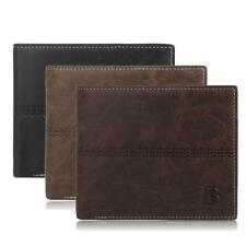 NEW Fashion Men PU Leather Bifold Wallet Credit Card ID Holder Slim Purse Wallet