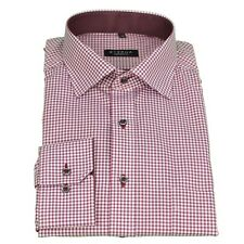Eterna Men's Casual Shirt Comfort Fit red Red-White Check 8913 E147 53
