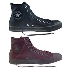 CONVERSE Scarpe SNEAKER Shoes All Star HI Leather MAN Original NEW Leather 2