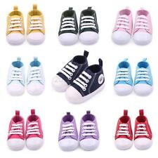 Toddler Baby Boy Girl Kid Lace Up Sneakers Soft Sole Crib Shoes Boots 0-12Months