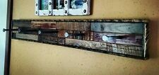 Coat Hanger Rack Wall Handmade Mount Hook Reclaimed Wood Rustic Hat Finish Barn