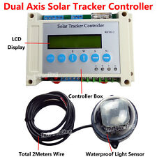 Electronic Single/Dual Axis Controller for PV Solar Panel Solar Tracking System
