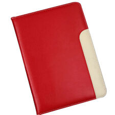 Red Leather Smart Cover Case Stand For Apple iPad Air/Air2 Mini 2 3 4 Wake Sleep