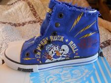 Ed hardy kids highrise shoes Navy