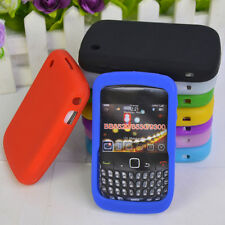 1* Brand New Soft Silicone Skin Case Back Cover Skin For BB Blackberry 8520 8530