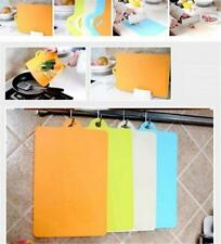 Hygienic Kitchen Slicing Cutting Chopping Boards Multi-Color Mat Plastic Hot J