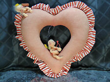 Annalee Heart with Cupis - 1997 made in the USA