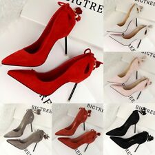 Sexy Fashion Tassels Pointed Toe Hollow-Out Pumps Slim High Heels Clubwear Shoes