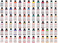 Angelus Acrylic Leather Paint 4 oz All Colors bottle Sneaker Head  Boot Shoes