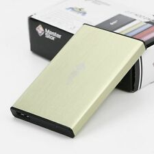 "MasterStor External Hard Drive USB 3.0 Super Fast 2.5"" Laptop SATA HDD Yellow"