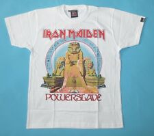 Iron Maiden - Powerslave T-shirt  White Power Slave New