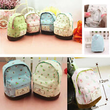 Mini Small Cute Women's Lady Girl Pouch Coin Card Purse Backpack Key Bag Wallet