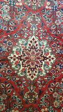 Persian Rug hand made Hamedan Antic 100% wool Excellent Condition 5' x 7'1/2""