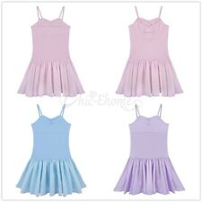 Girl Kid Hollow Out Circle Ballet Dance Dress Leotard Tutu Skirt Party Dancewear