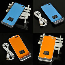 US 2200mAh External Power Bank Battery Backup Charger Case Pack for iPhone 5 5s