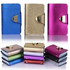 Synthetic Leather Business Case Wallet ID Credit Card Holder Purse 26Cards W3LE