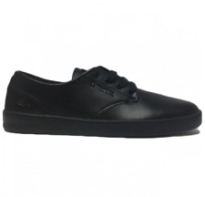 EMERICA THE ROMERO LACED SMU BLACK BLACK BLACK MENS CASUAL SKATE SHOES SNEAKERS