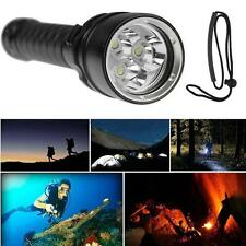 8000LM CREE XM-L T6 LED Scuba Diving Underwater 100M Flashlight Torch Waterproof