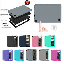 Kids Shock Proof 360º protection Case Cover for Amazon Kindle Fire HD 7 2015 new