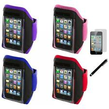 Gym Sports Armband Case Cover+LCD Film+Stylus for iPod Touch 4th 3rd 2nd Gen