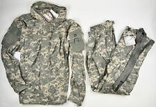 New ECWCS USGI GEN III LEVEL 5 JACKET & PANTS ACU LARGE / REGULAR